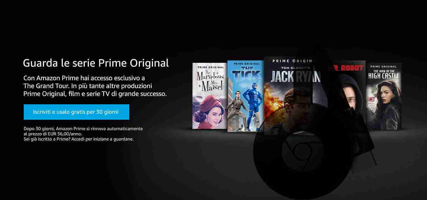 Come guardare Amazon Prime video sulla tua TV con Chromecast