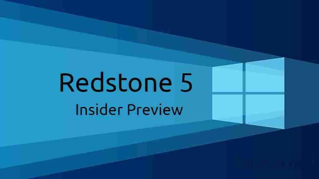 You are currently viewing L'aggiornamento di ottobre di Windows 10 (Redstone 5) uscirà il 2 ottobre