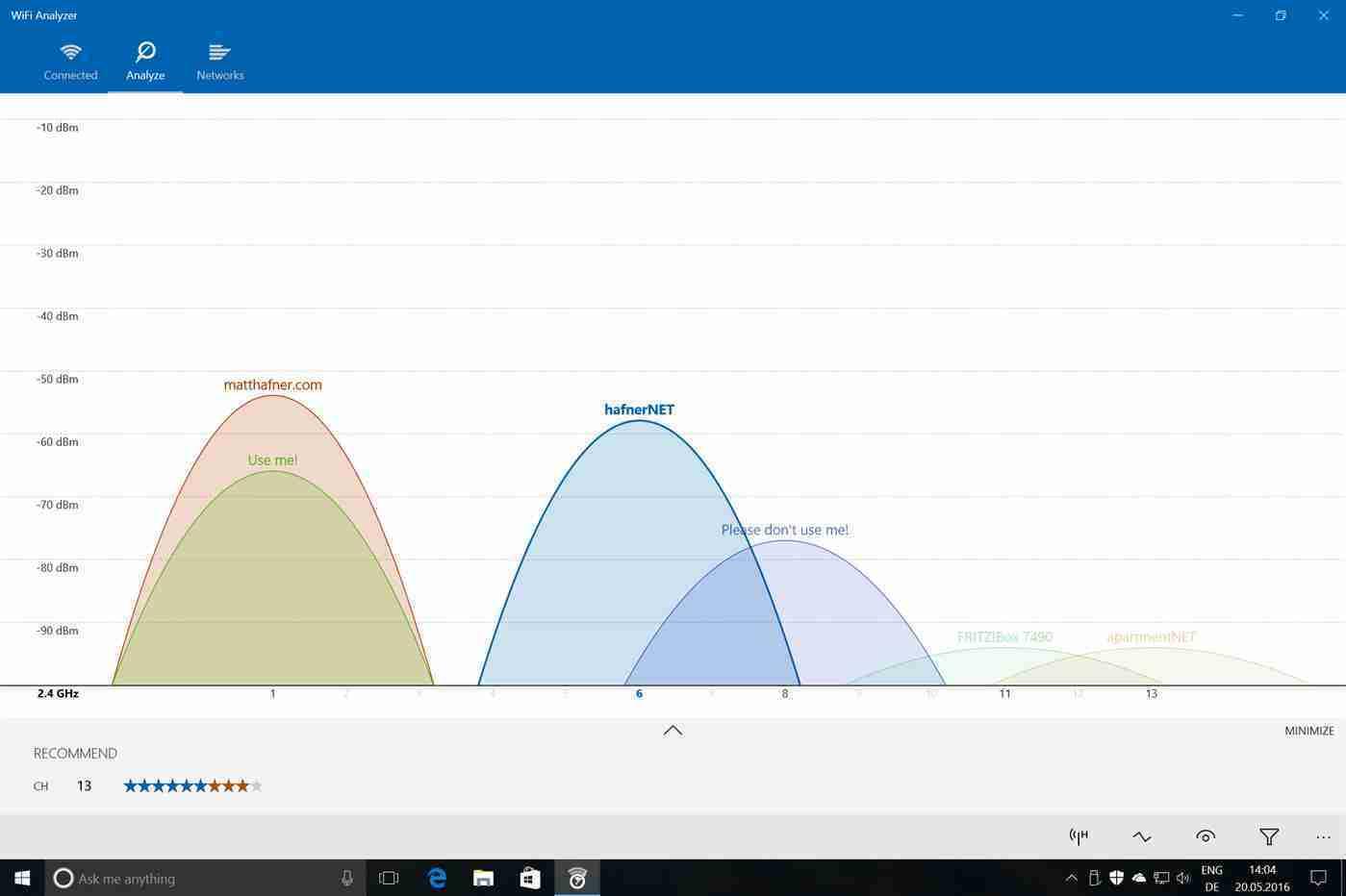 Analizzatori Wi-Fi per Windows