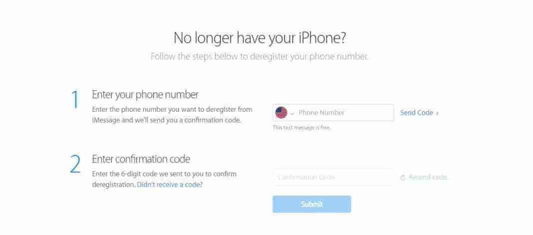 Come disattivare iMessage cancellando il proprio numero di telefono