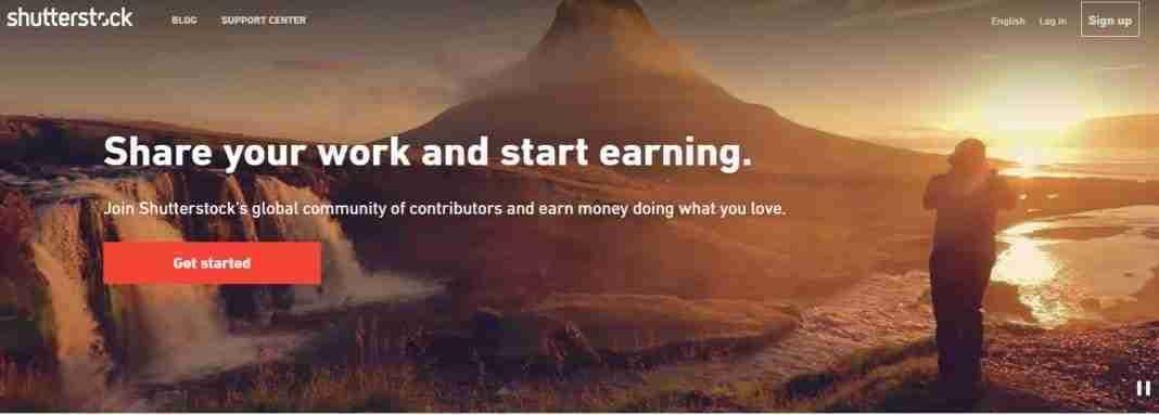 Come vendere foto online su Shutterstock