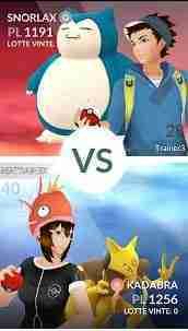 Come sfidare un amico in Pokemon GO