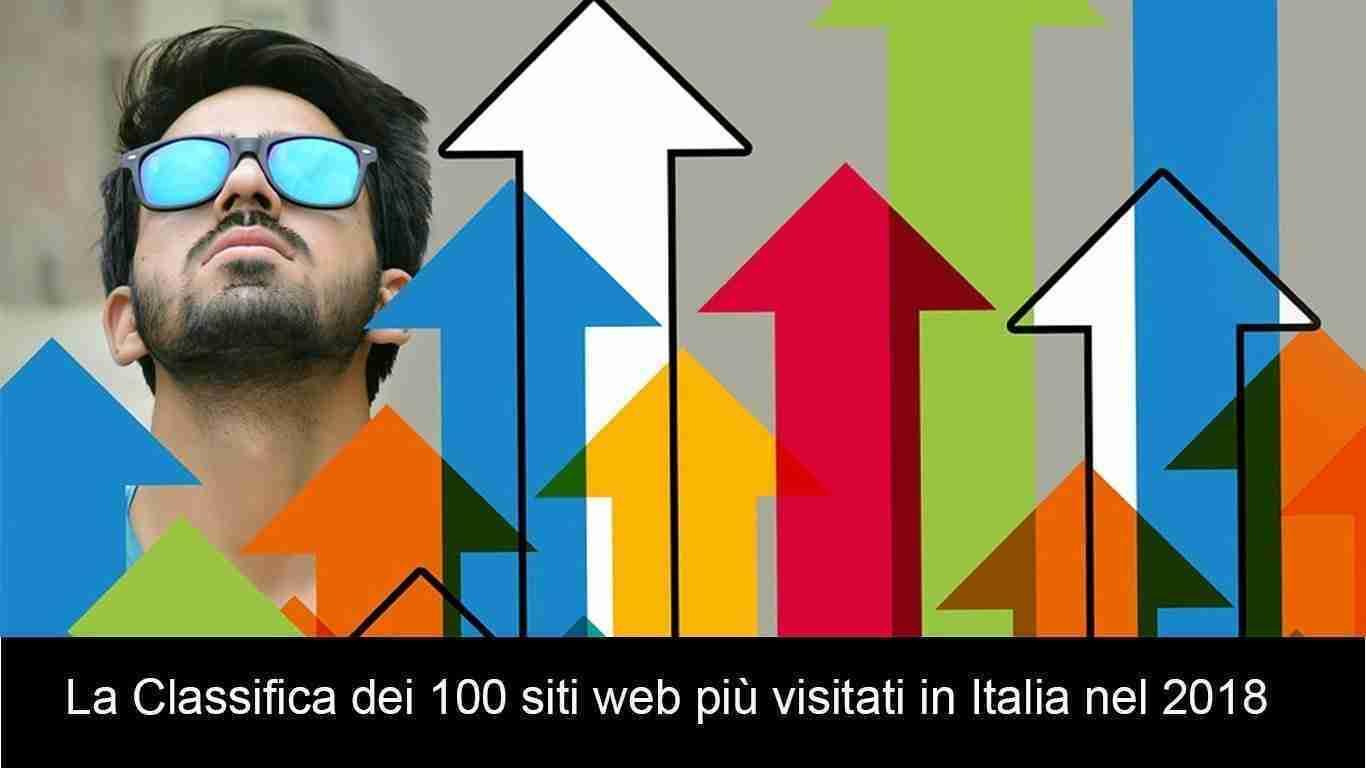 La Classifica dei 100 siti web più visitati in Italia nel 2018