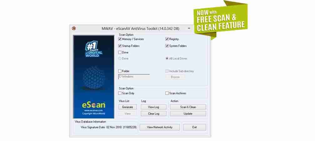 eScan Antivirus Toolkit