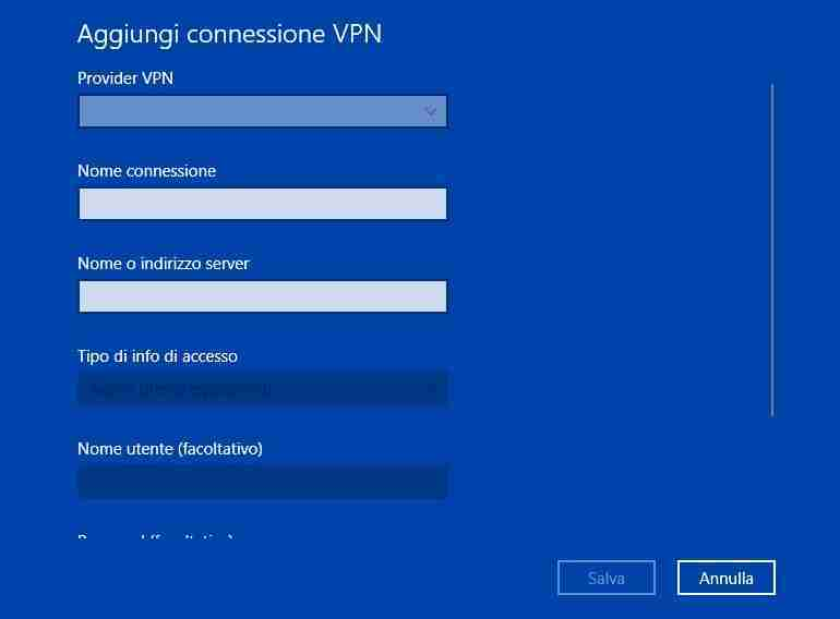Come configurare VPN L2TP su Windows 10