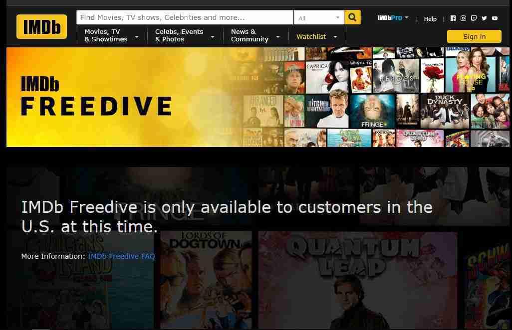 Freedive di IMDb