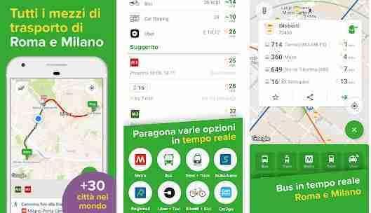 Citymapper - Metro, Bus e Treni