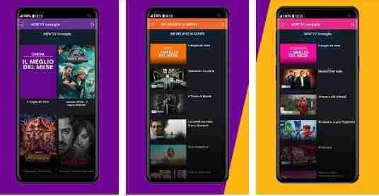 Disdire NOW TV da smartphone e tablet
