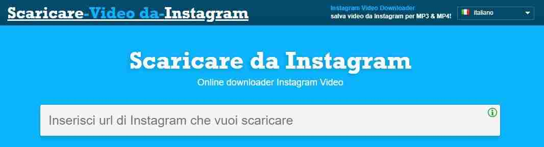 Downloader Instagram