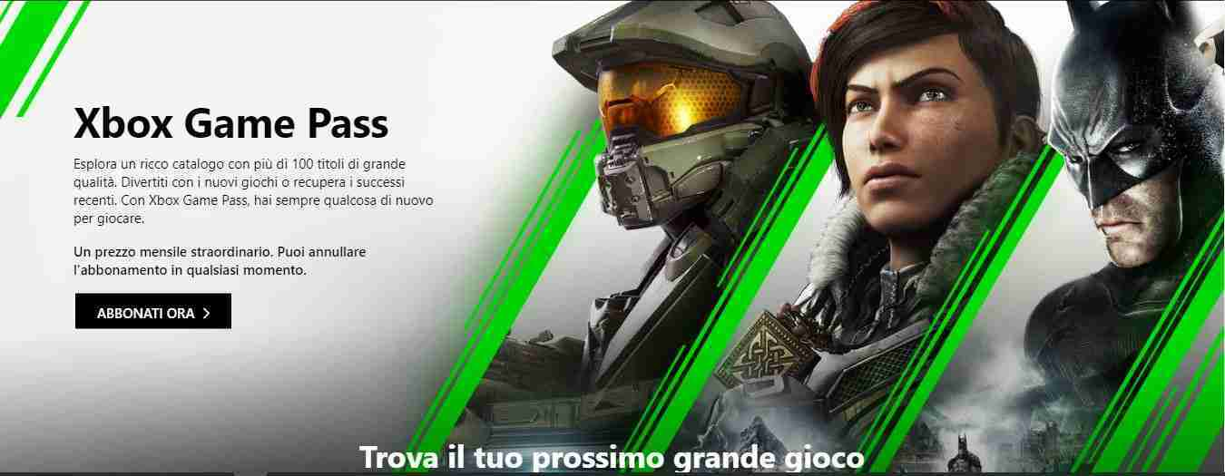 Che cos'è Xbox Game Pass
