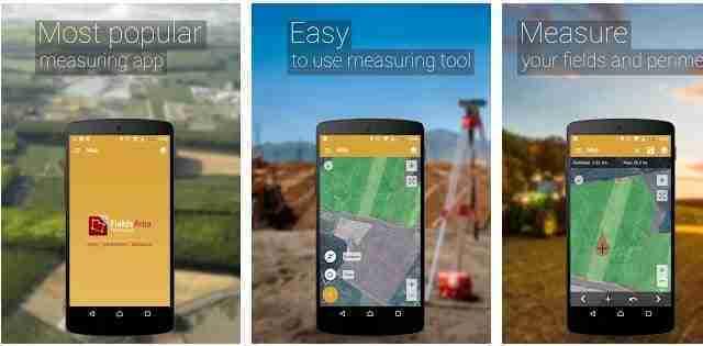 GPS Misura l'area del campo