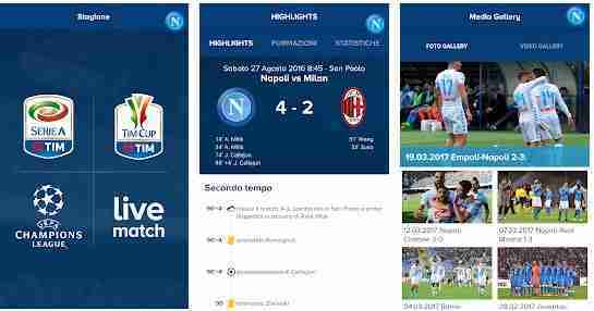 SSC Napoli Official App