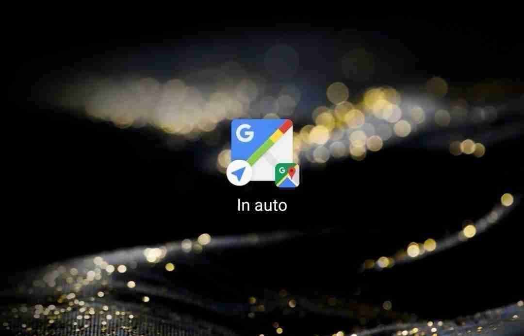 Come avviare subito Google Maps come navigatore GPS per auto