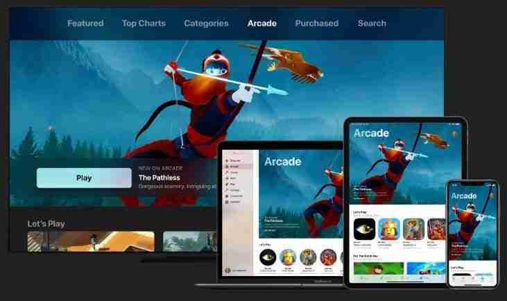 Apple arcade con iCloud