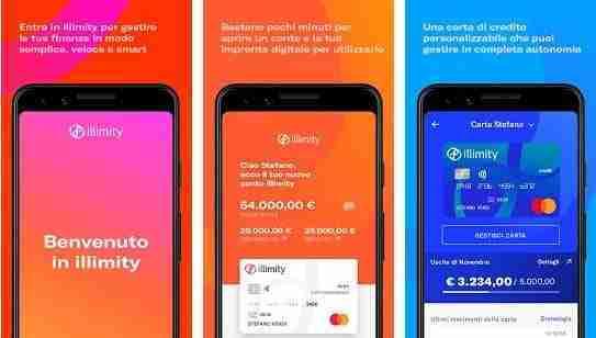 Aprire un conto illimity da app su smartphone