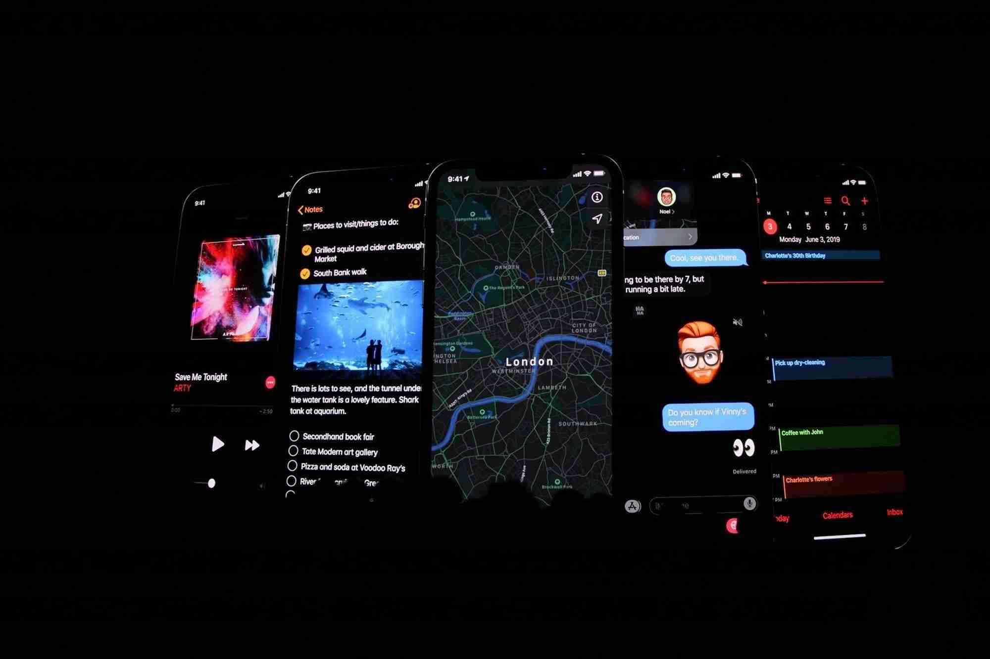 Come abilitare la modalità scura in iOS 13
