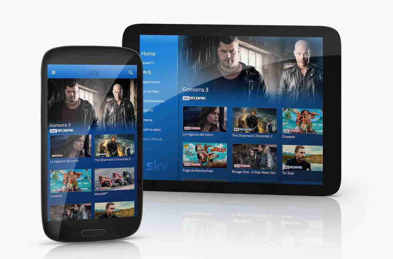 Come resettare i dispositivi associati a SKY GO