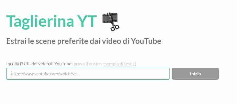 Scaricare video di Youtube con YTCutter