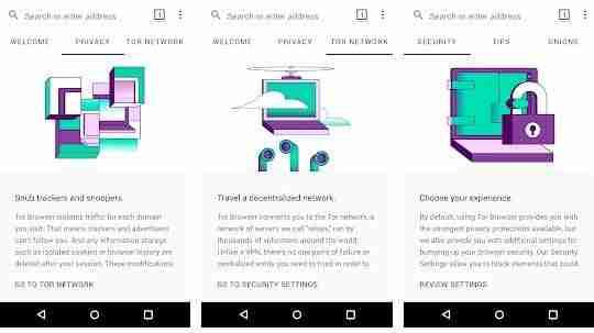 Entrare nel Deep Web o Dark Web da Android