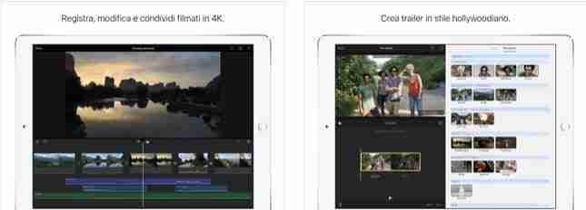 iMovie - App per fare video con foto e musica