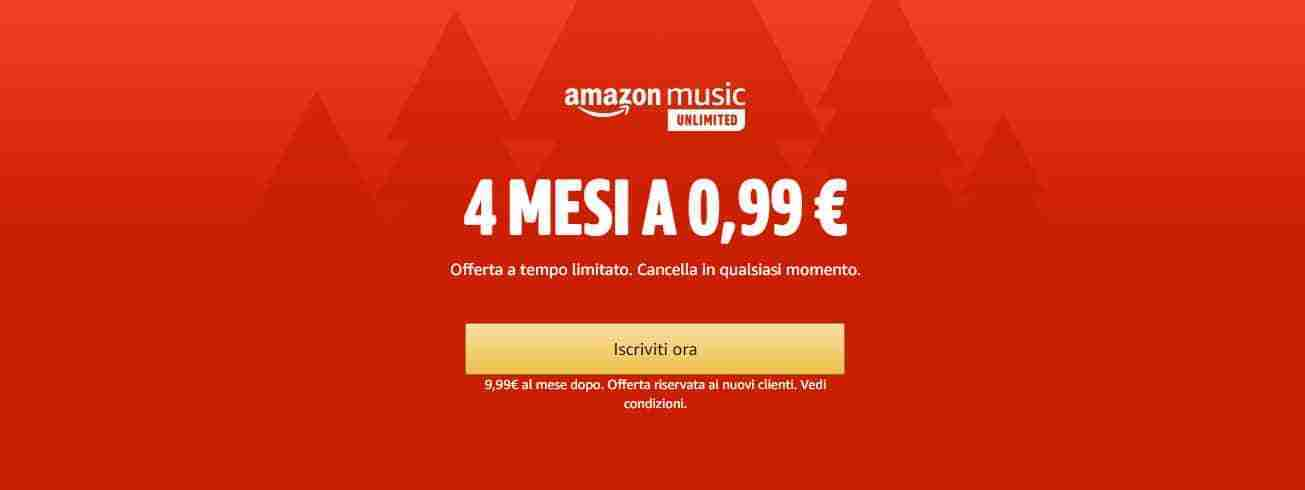 Come inscriversi ad Amazon Music Unlimited