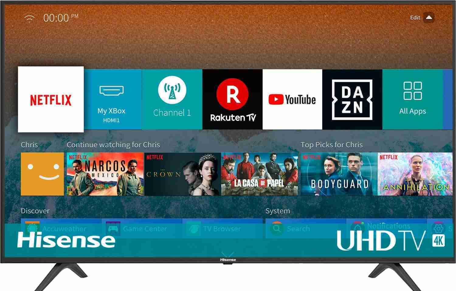 HISENSE H43BE7000 TV LED Ultra HD 4K