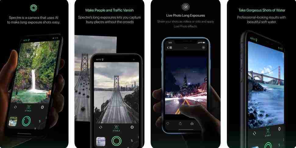Spectre Camera migliore app 2019 per iphone