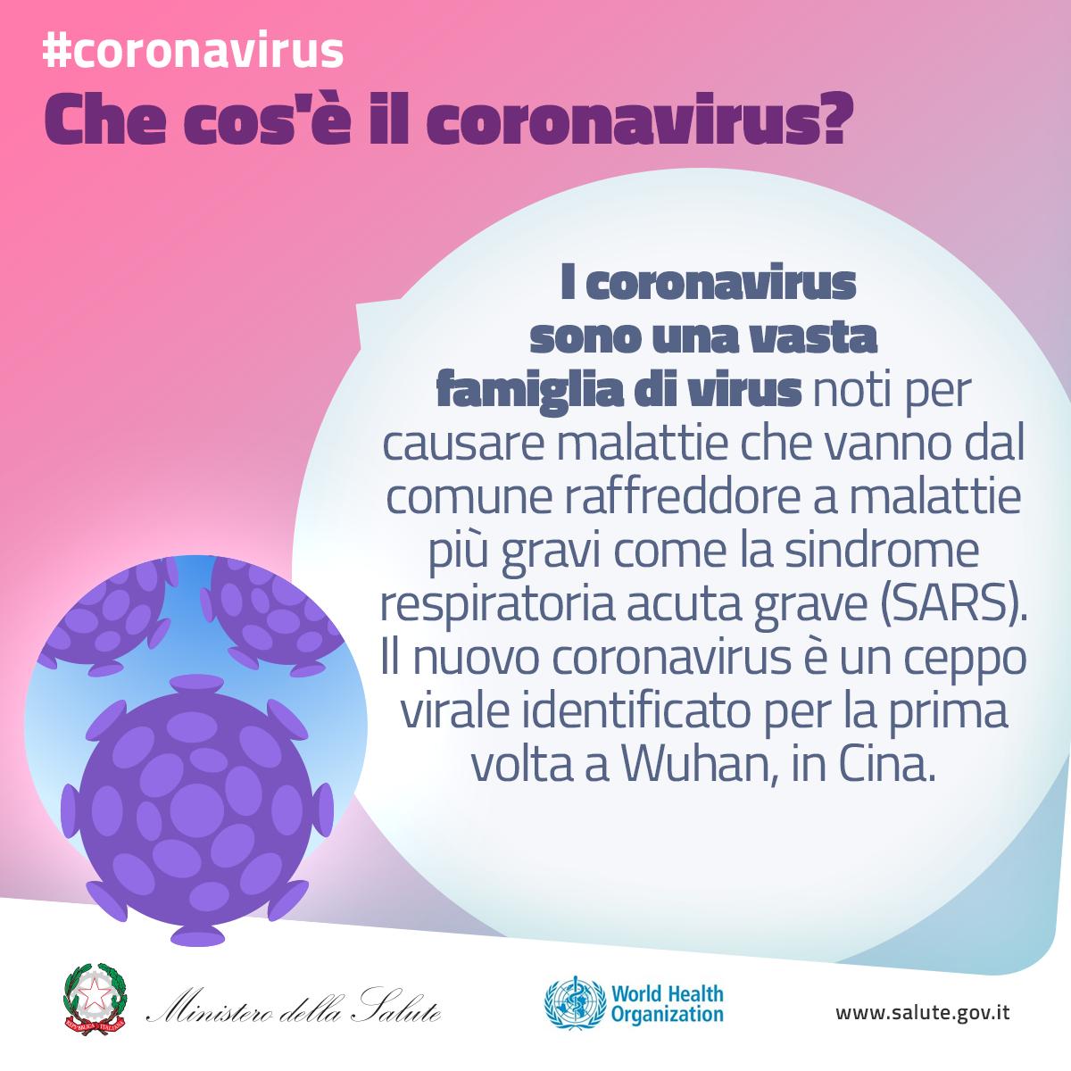 Che cos'è il coronavirus