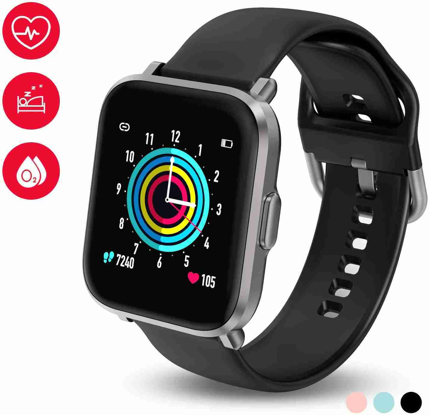 HolyHigh Smartwatch Fitness Tracker