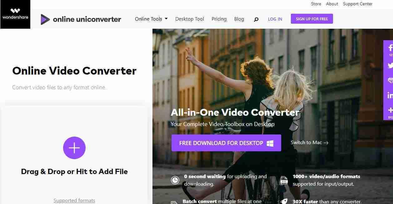 Media.io - UniConverter online