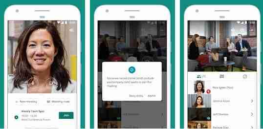 Come usare Google Meet da smartphone