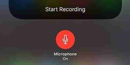 Registrare lo schermo di iPhone