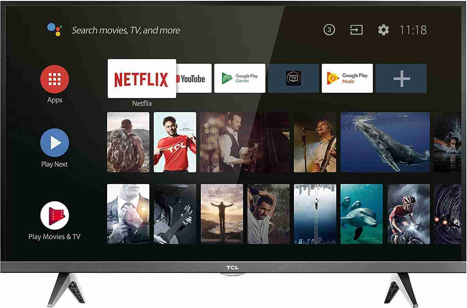 TCL 32ES560 televisore 32 HD Ready Android TV