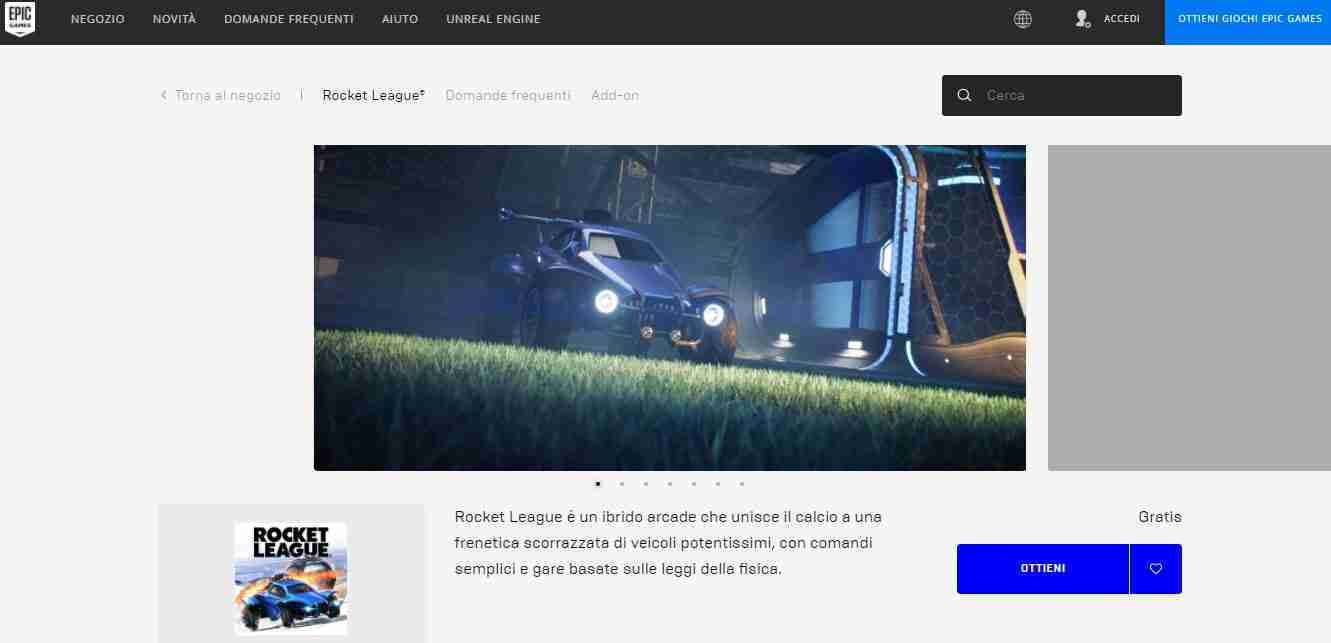Come scaricare e giocare Rocket League su PC Windows