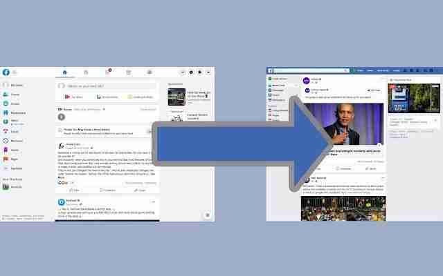 You are currently viewing Come tornare al vecchio layout facebook