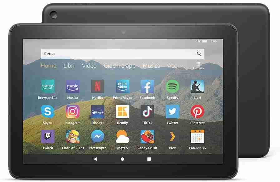 Nuovo tablet Fire HD 8
