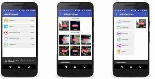 Come ridurre la dimensione di un video su Android