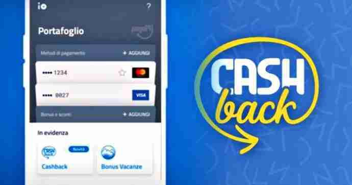 Come registrarsi al cashback attraverso l'app IO