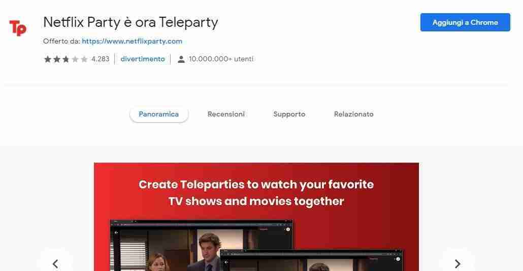 Teleparty