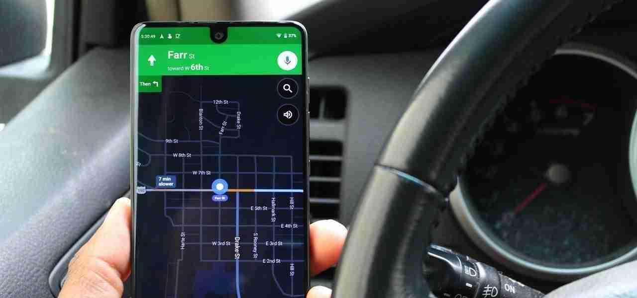 Come abilitare la modalità oscura in Google Maps