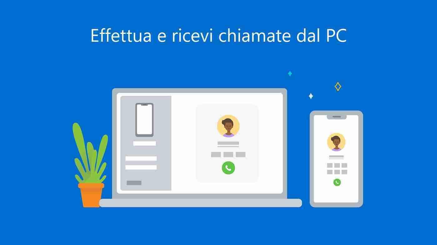 Come effettuare e ricevere chiamate in Windows 10
