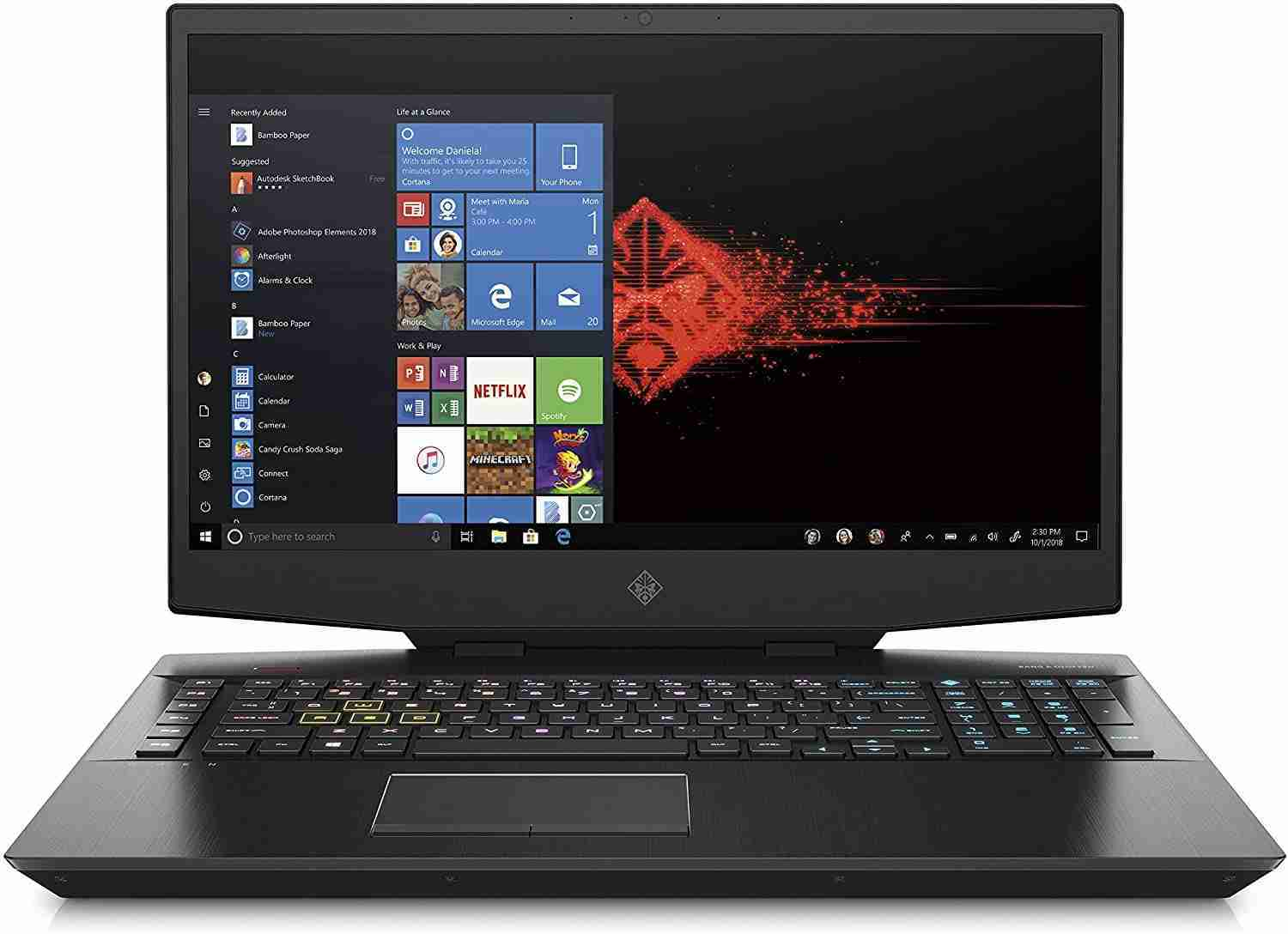 HP - Gaming OMEN 17-cb1002nl Notebook