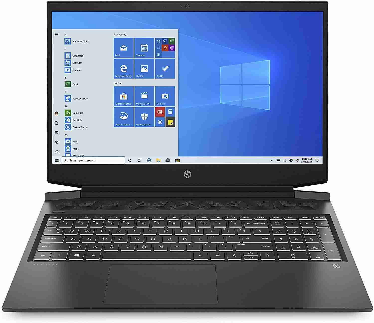 HP - Gaming Pavilion 16-a0019nl Notebook