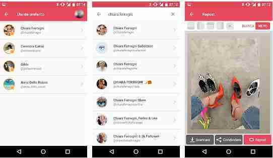 Scaricare storie Instagram Android