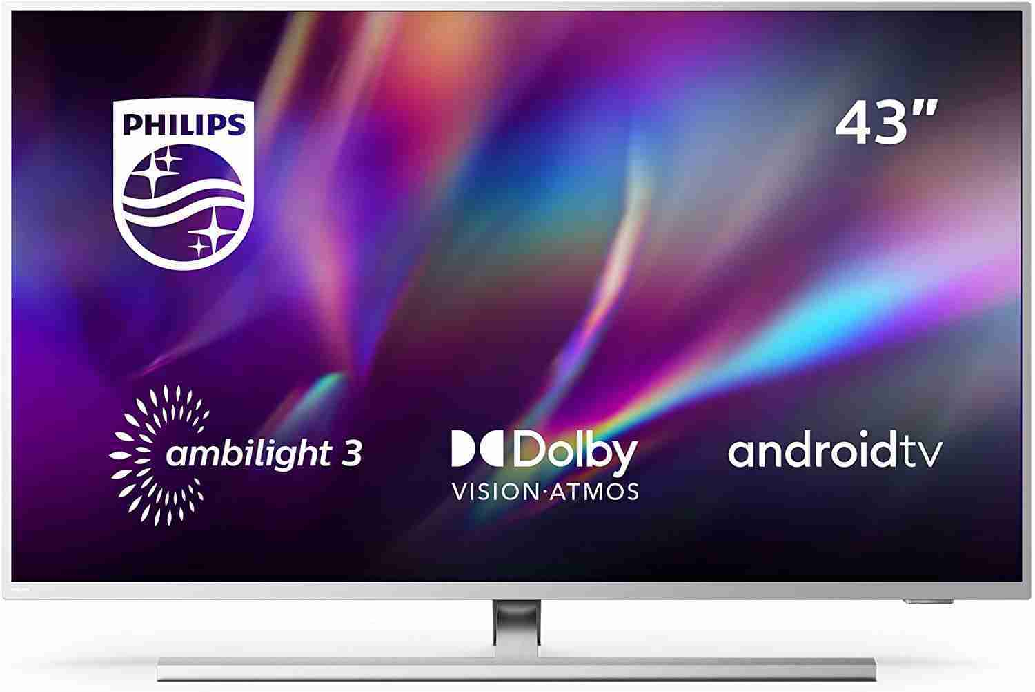 Philips TV Ambilight 43PUS850512 43 4K UHD TV LED