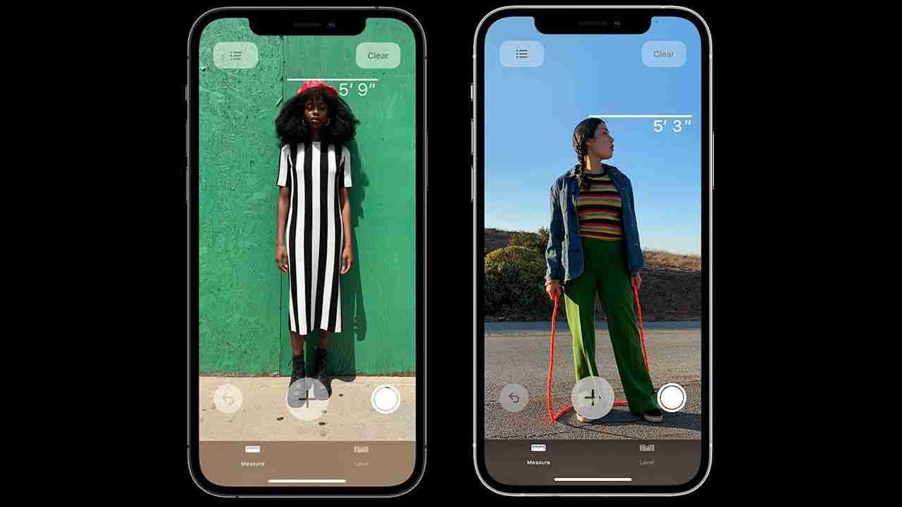 Come misurare l'altezza di una persona con un iPhone 12 Pro