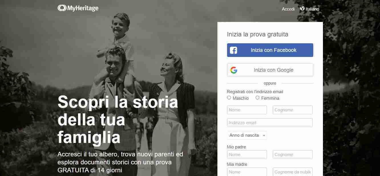 MyHeritage: come funziona per animare vecchie foto