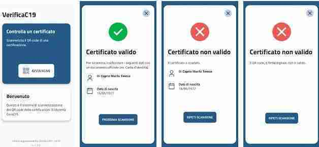 You are currently viewing Come leggere e scansionare QR Code Green Pass/Certificato Verde