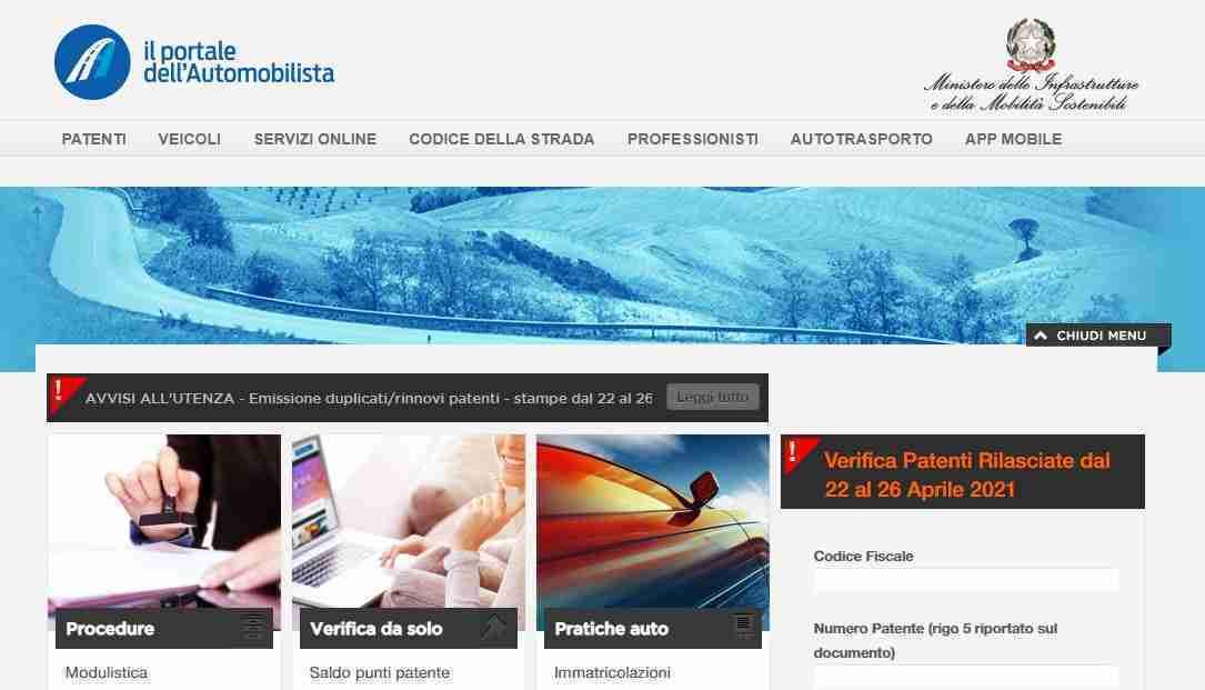 You are currently viewing Come registrarsi al Portale dell'automobilista