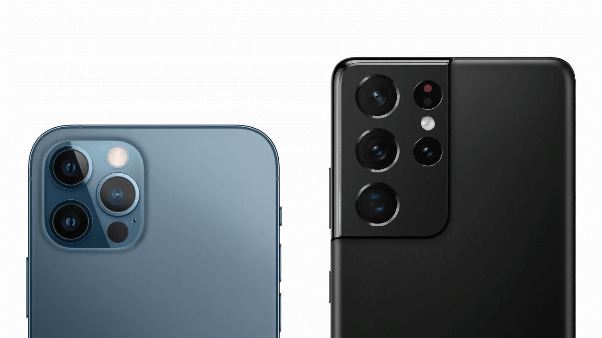 Read more about the article iPhone 12 Pro Max contro Samsung Galaxy S21 Ultra: qual è il migliore?
